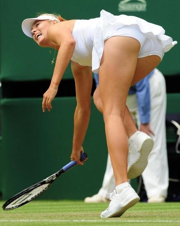 Peed Panties Sharapova Pic