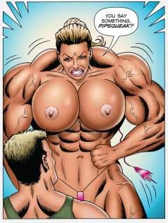 lh art female muscle