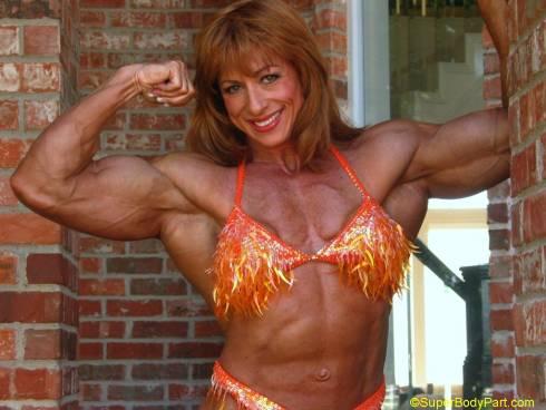 Female Bodybuilder Betty Pariso Picture