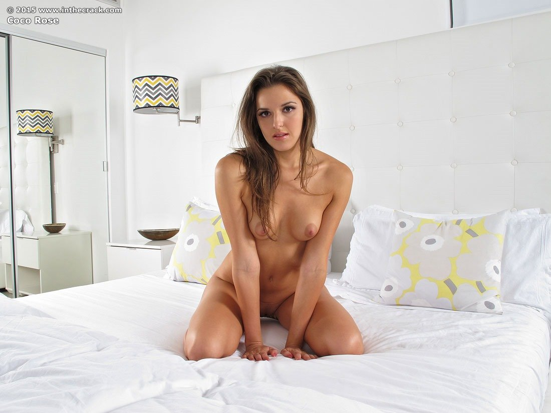 Coco Rose Pink Dildo Fuck  Sexy Teens Naked
