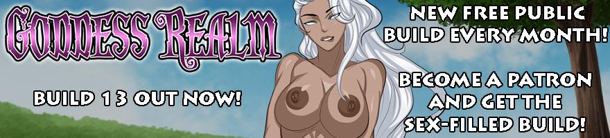 Goddess Realm NSFW Visual Novel RPG on Sexyverse Games Patreon