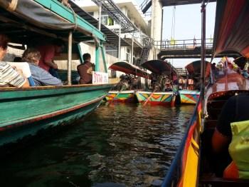 Bangkok Yüzen Çarşı, Tayland 2014 by Seyahatya.com