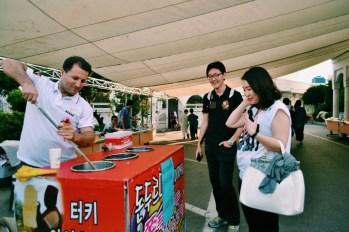 Kore'de Dondurmacı Ömer Yaylı Usta