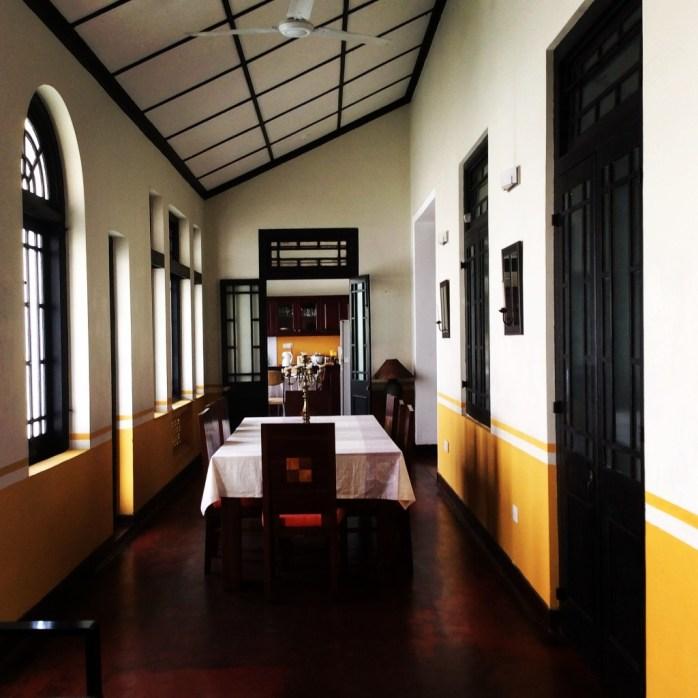 Cheriton residencies, Colombo, Sri Lanka. Flying to, and arriving in Sri Lanka