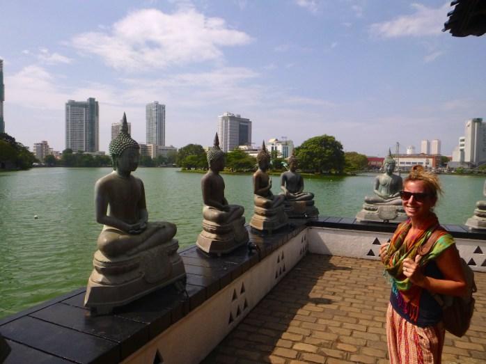 Seema Malaka Buddhist Temple, Colombo, Sri Lanka