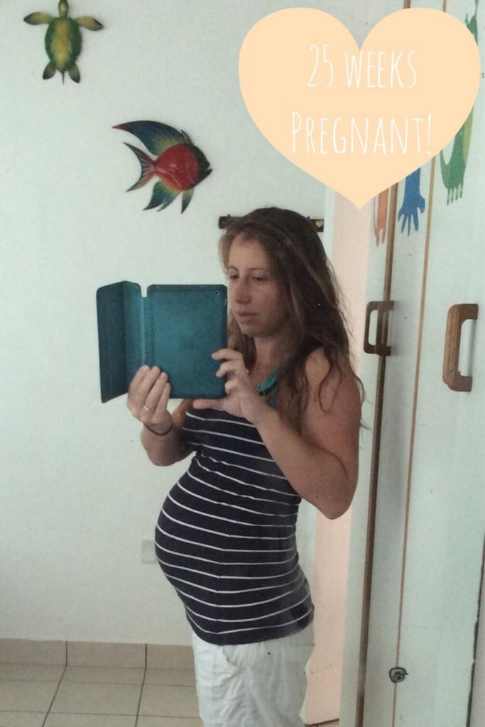 25 weeks pregnant