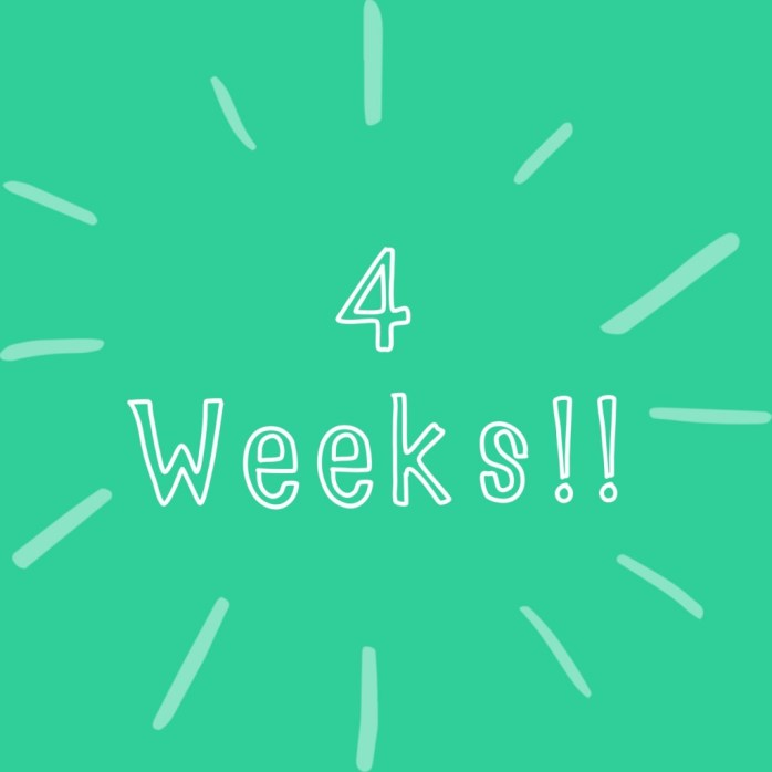 35 weeks pregnant countdown to Caesarian section 4 weeks