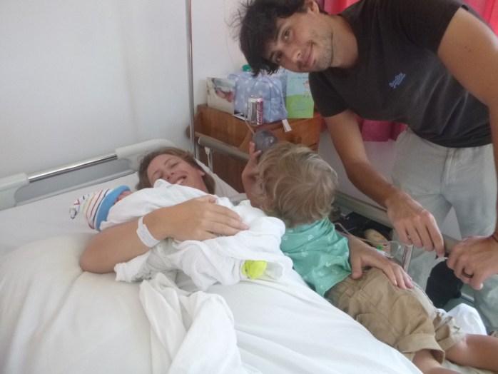 Mummy Daddy Arthur and Freddie Ocean