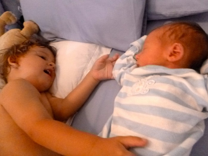 Brothers Arthur and Freddie Ocean bed time stories