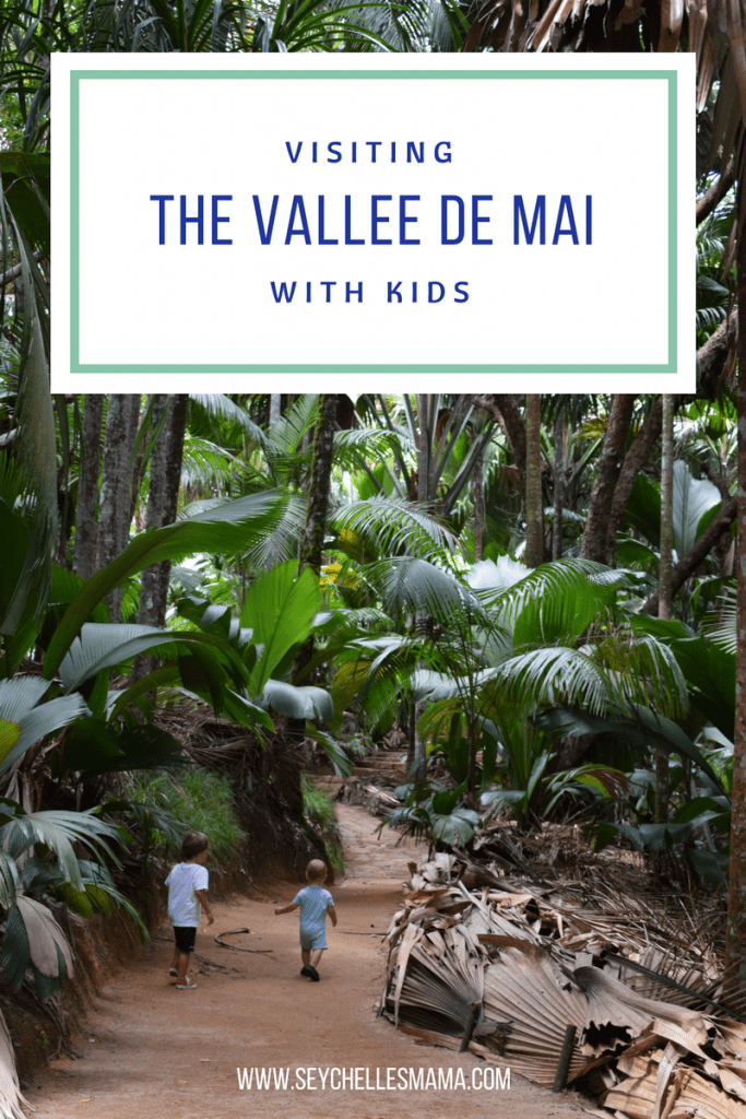 visiting the vallee de mai with kids