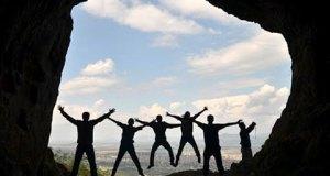 Ferzene Mağarası'nda Silüetler