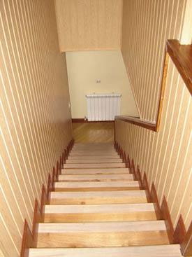 Revestimientos escaleras de madera