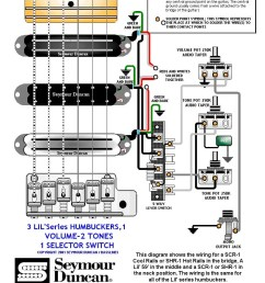 3 humbuckers 5 way switch 1 volume 2 tones  [ 822 x 1037 Pixel ]