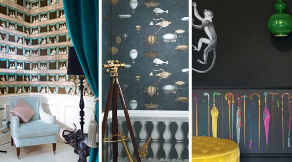 Cole  Son Wallpaper  Seymour Interiors