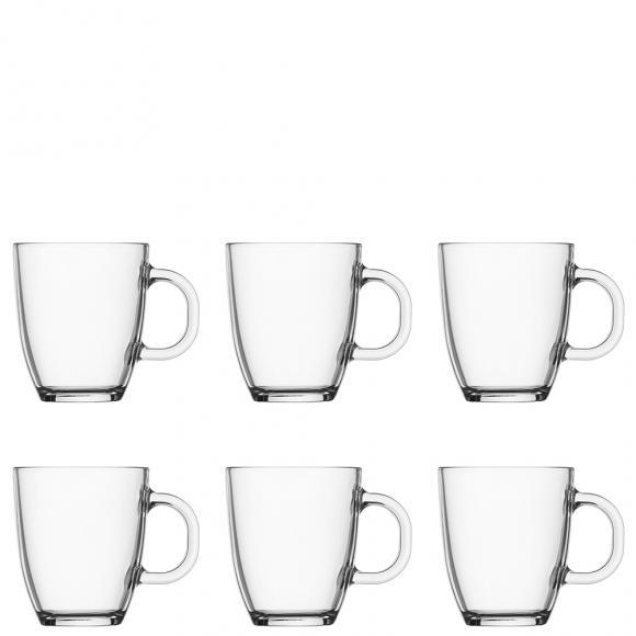 Bodum Bistro Coffee Mug 6 Piece Set in Glassware at
