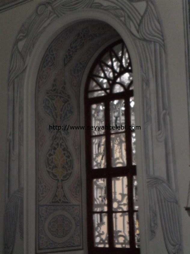 Osmangazi Türbesi Pencere Süslemeleri