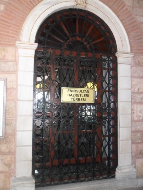 Emir Sultan Hazretleri Pencere Korkulukları