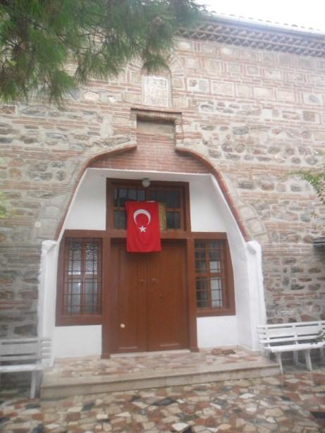 Veled-i Yaniç Cami Giriş Kapısı