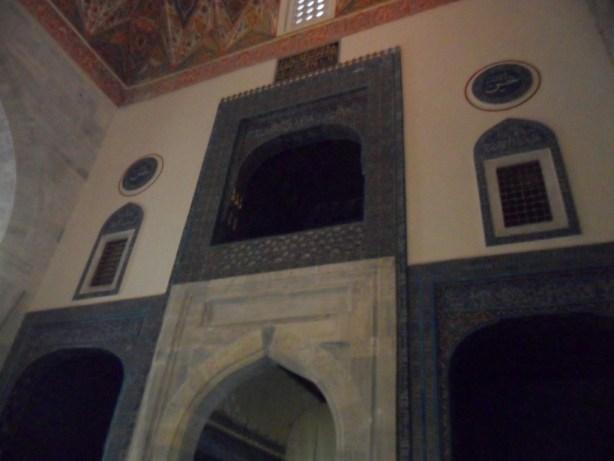 Yeşil Cami İç Balkonlar