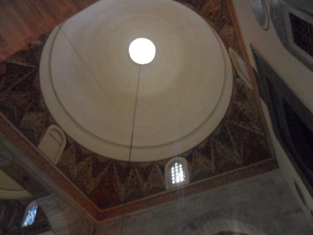 Yeşil Cami Tavan ve Kenar Süslemeleri
