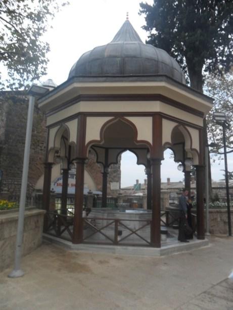 Bursa Ulu Cami Dış Şadırvan 1