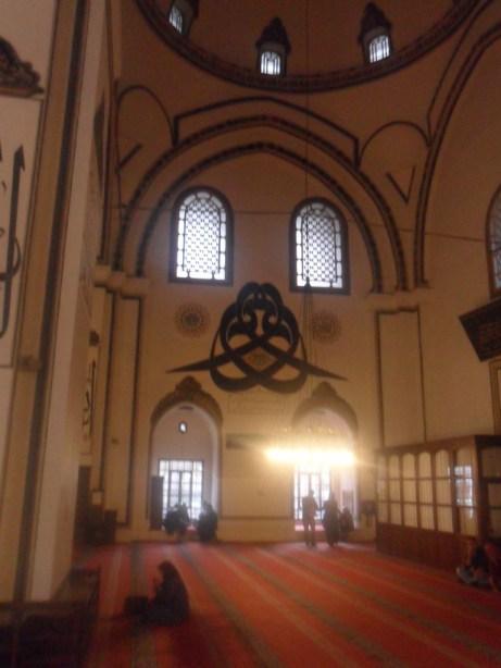 Bursa Ulu Cami Duvar Hat Süsleri