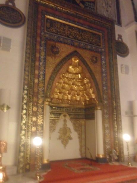 Bursa Ulu Cami Mihrap