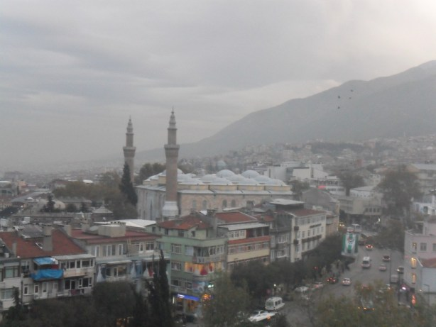 Bursa Ulu Cami Tophane Çekim