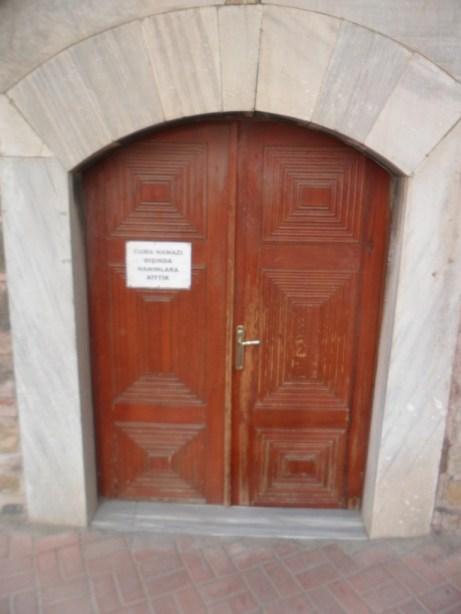 Eski Cami Ön Giriş Kapısı