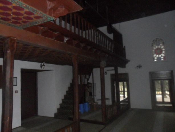 Hasan Bey Cami Balkon Merdiveni