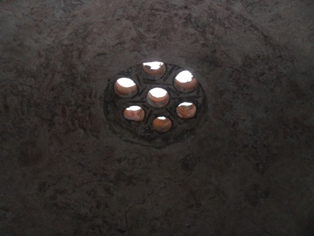 Tarihi Kumyaka Hamamı Giriş Tavan