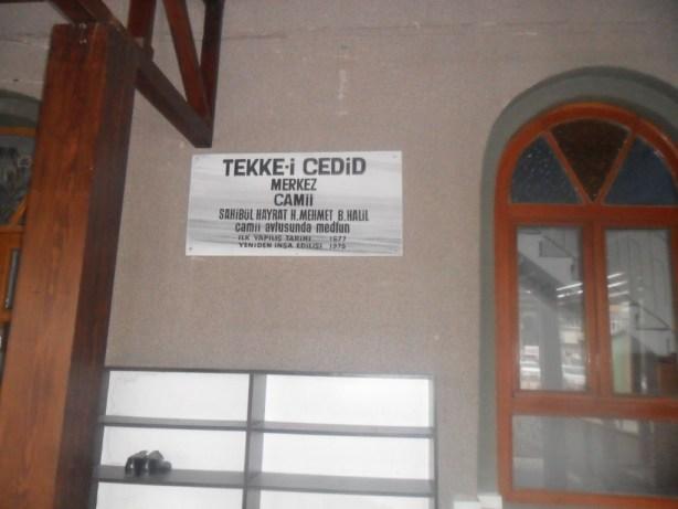 Tekke-i Cedid Cami Yapılış Tarihi