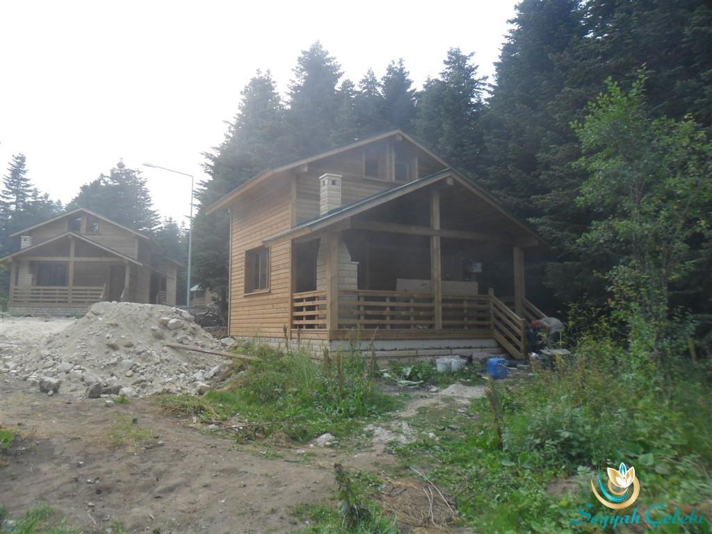 Uludağ Sarıalan Bungalov Evler Orman Köşkleri