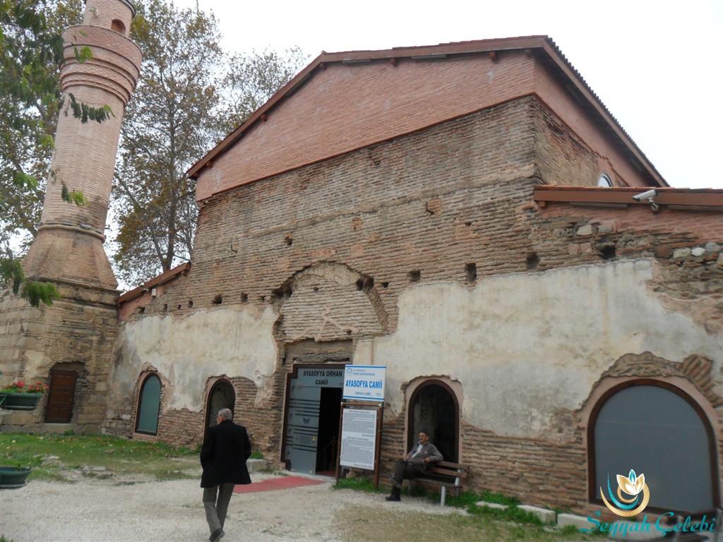 İznik Ayasofya Orhan Camii Giriş Kapısı