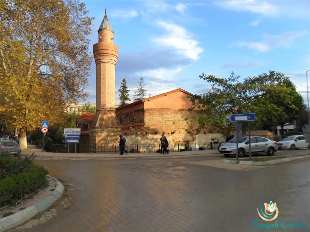 İznik Ayasofya Orhan Camii Göl Kapı