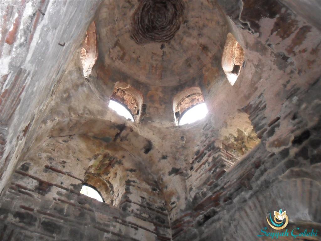 İznik Ayasofya Orhan Camii Kubbe Süslemeleri