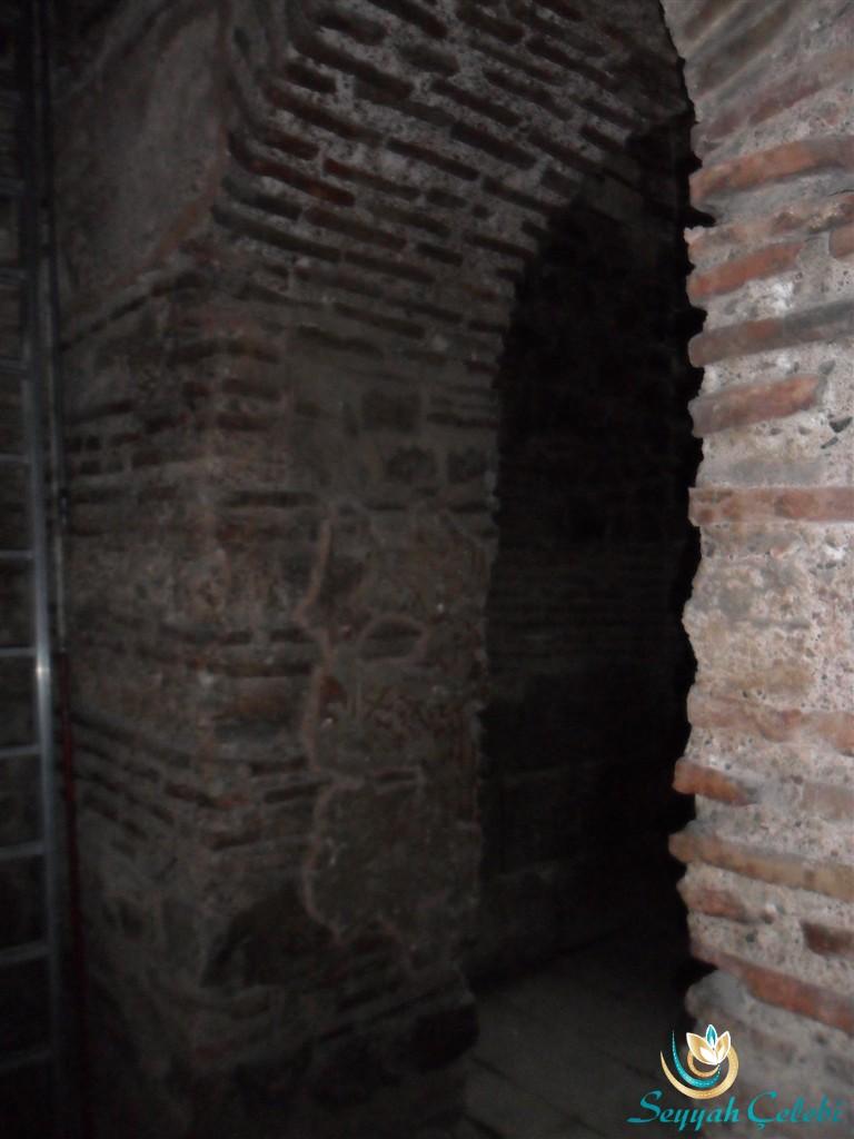 İznik Ayasofya Orhan Camii Mimar Sinan Kemer Kapı Süslemeleri