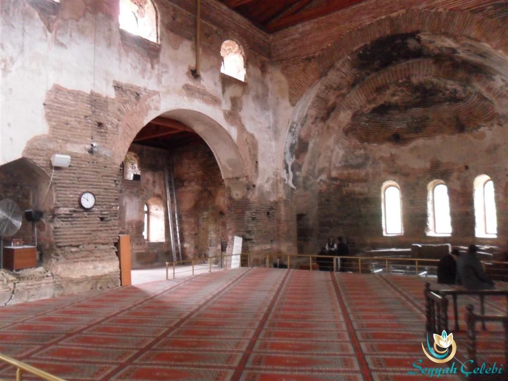 İznik Ayasofya Orhan Camii Namaz Kılınan Yer