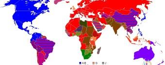 Dünya Haritası Ülkeler Kullanılan Fiş ve Priz Türleri
