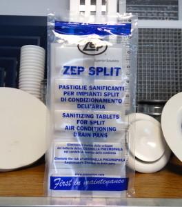 zep slit antibatterico per climatizzatori