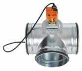 serranda di taratura aria 3 vie con motore Belimo LM230A
