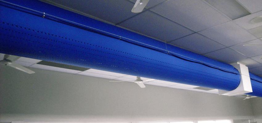 diffusori tessili canali in tessuto