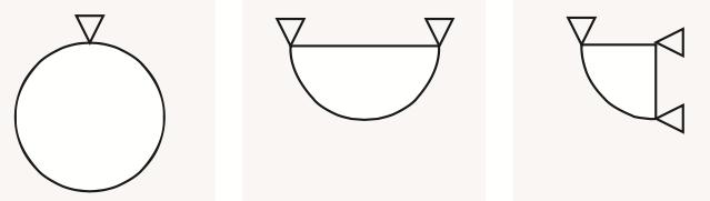 forme diffusori circolari