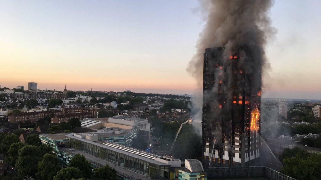 classe reazione al fuoco grenfell tower