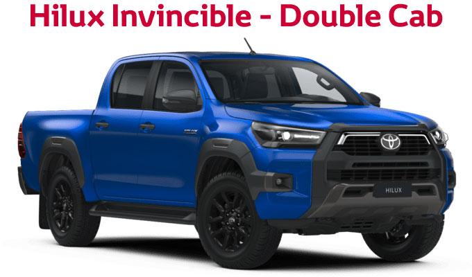 flückiger Autohaus – TOYOTA NEW Hilux Invincible - Double Cab