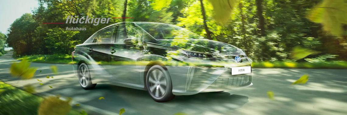 flückiger Autohaus - Toyota MIRAI entdecken