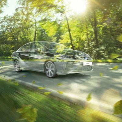 flückiger Autohaus - TOYOTA Mirai - Das Brennstoffzellenauto