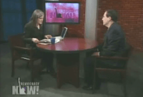 Amy Goodman, host of Democracy Now, interviews Robert Rosenthal, executive director of the Chauncey Bailey Project, her only source for Democracy Now's coverage of the murder of Chauncey Bailey on April 17, 2009.