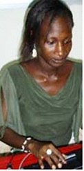 Cameroonian journalist Agnes Taile