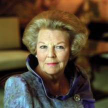 Queen Beatrix of the Netherlands, the largest shareholder in Royal Dutch Shell